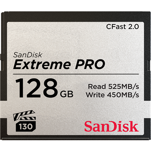 CFast2.0カード128GB