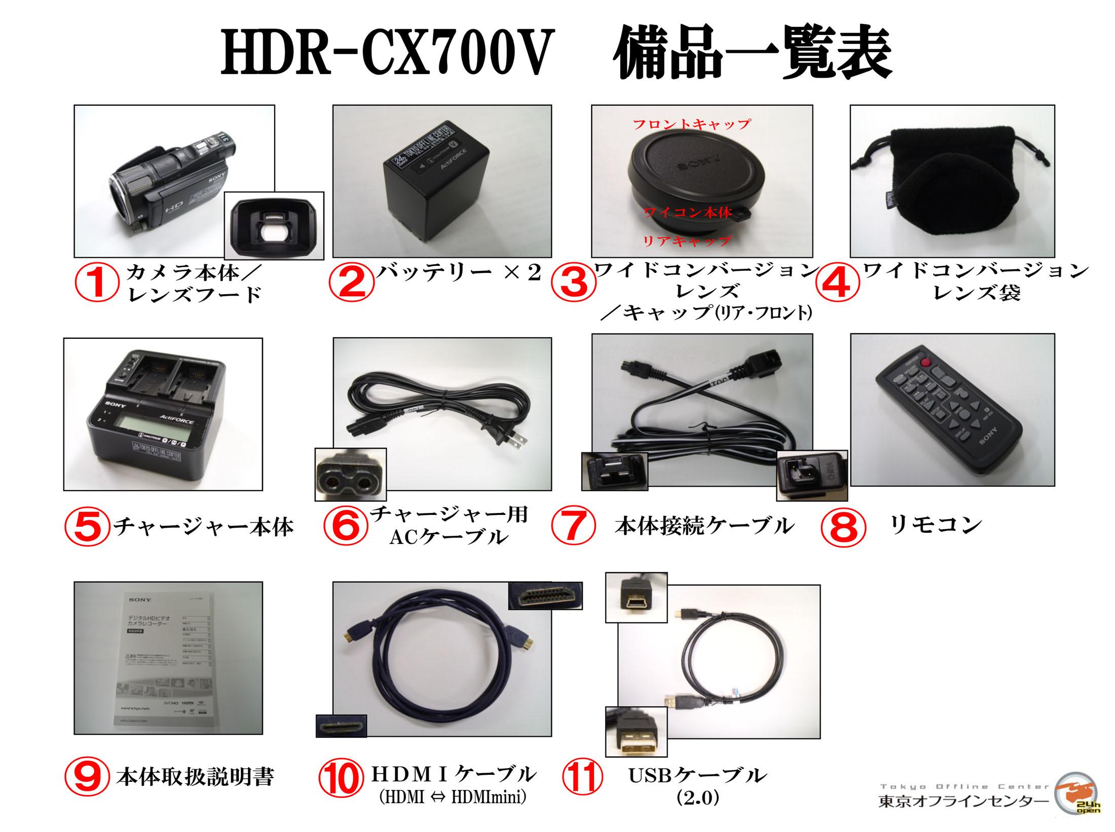 SONY HDR-CX700V