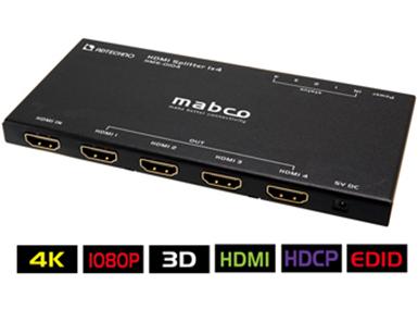 ADTECHNO HDMI 4分配器 HMS-0104