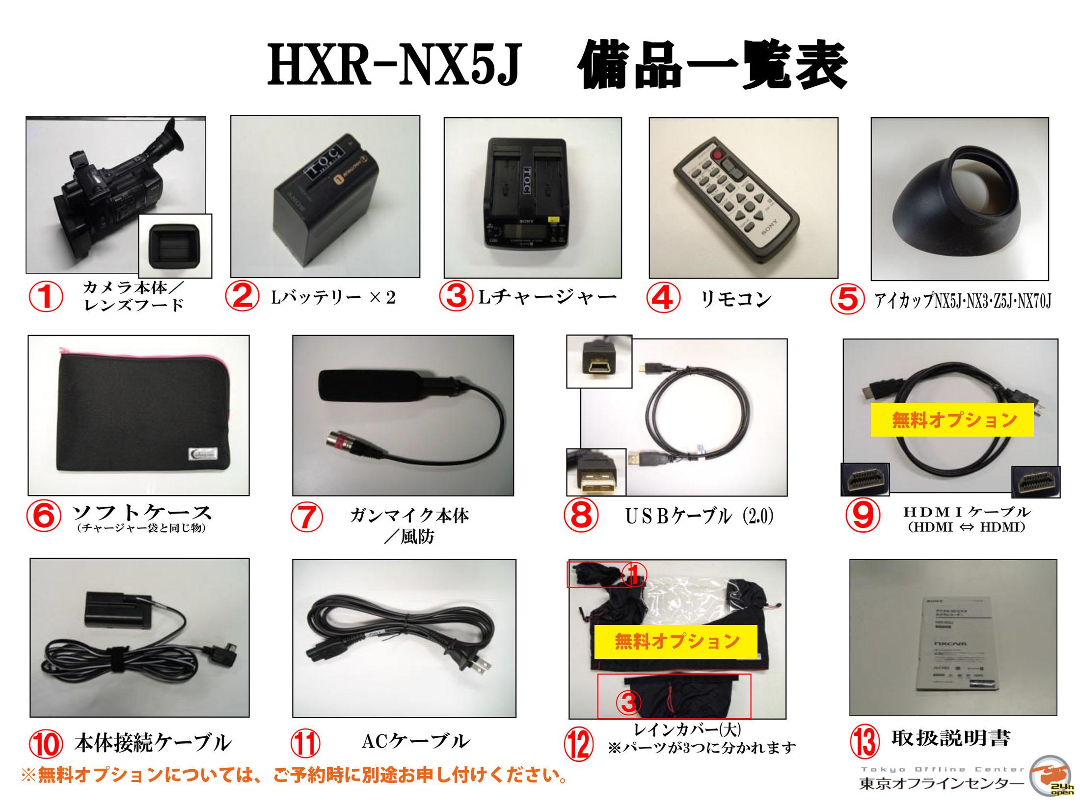 SONY HXR-NX5J
