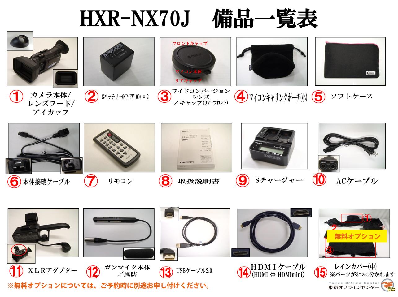 SONY HXR-NX70J