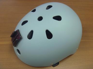 GoProヘルメットグレー