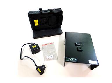 ポブカムレコーダー(Panasonic AG-HMR10)用Vマウントアダプタ