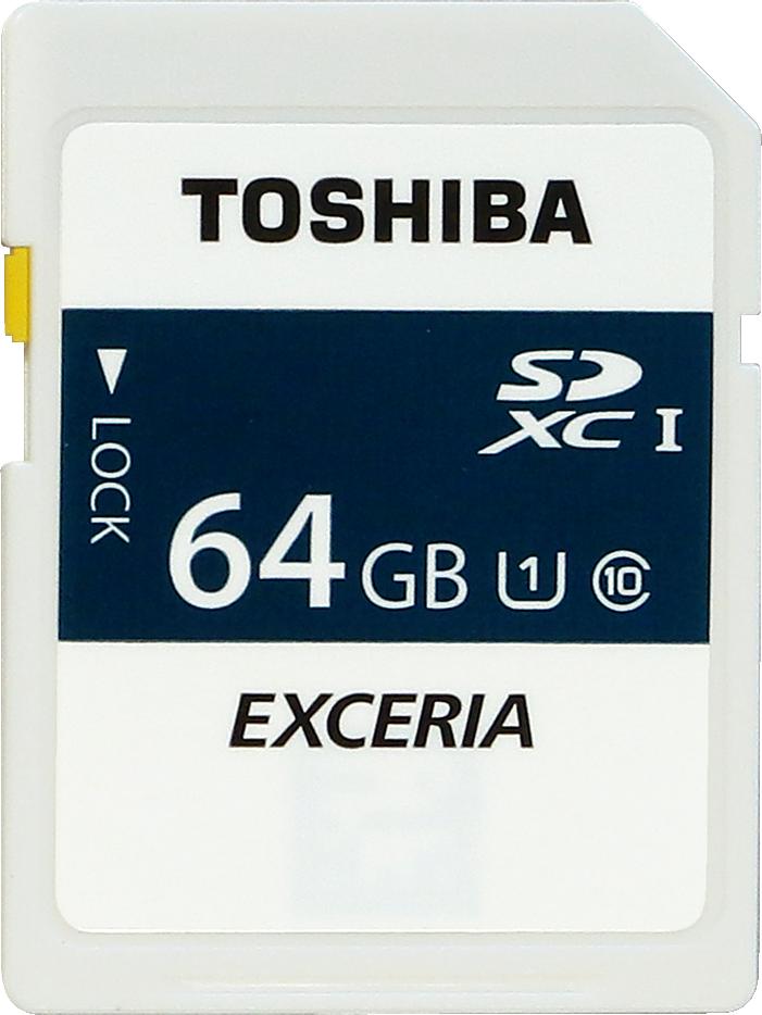 TOSHIBA SDXC64GB UHS1 (Mamolica)