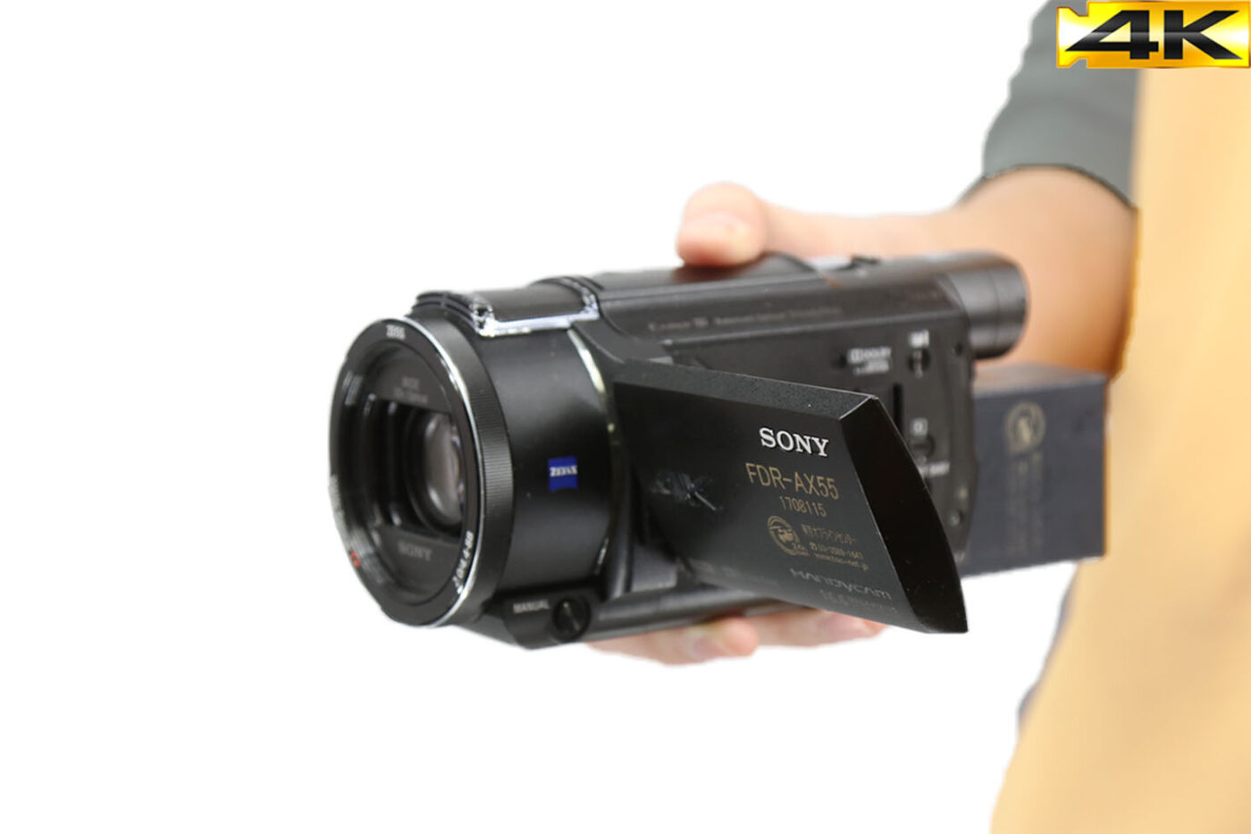 SONY FDR-AX55