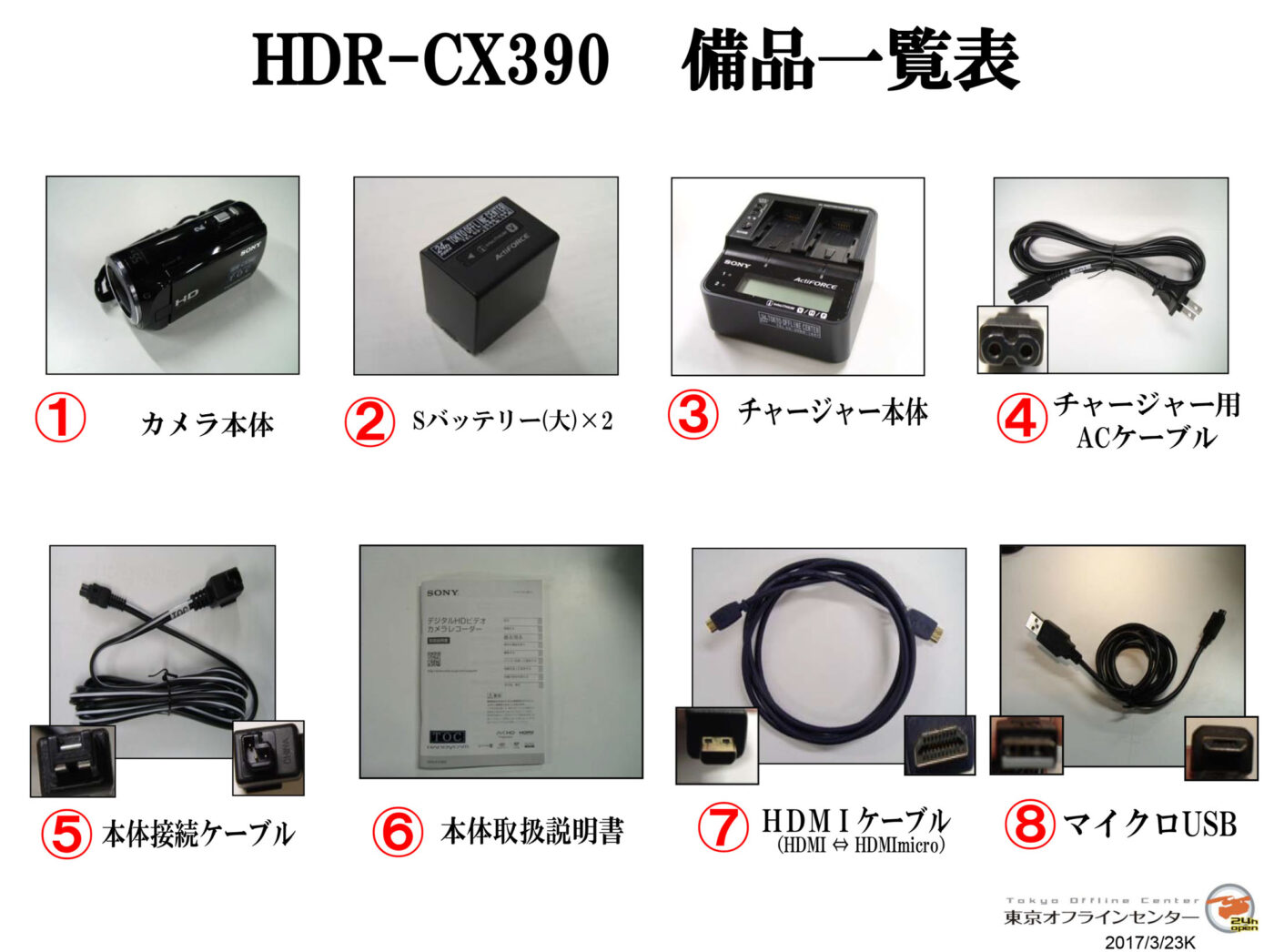 SONY HDR-CX390