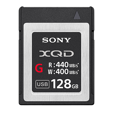 XQDカード128GB(SONY/QD-G128E)Gシリーズ
