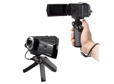 ハンディカメラ用グリップ(マルチ端子)