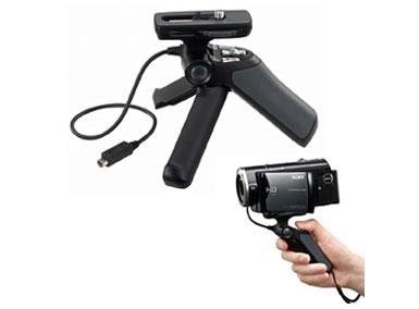 ハンディカメラ用グリップ(AVリモート端子)