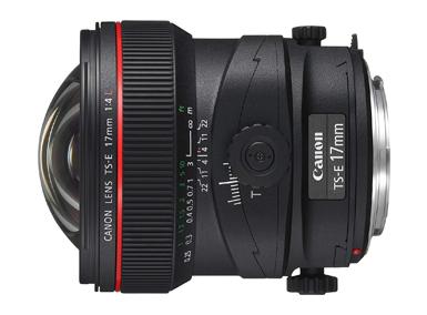 TS-E17mm シフト F4